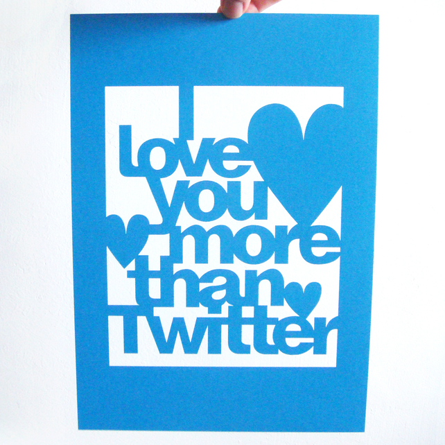 Storeyshop 'I Love You More Than' cards