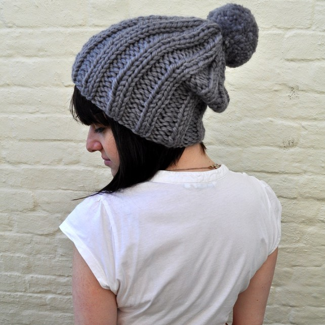 Knit Bobble Stitch In The Round : Knitting Pattern Bobble Hat Patterns Gallery