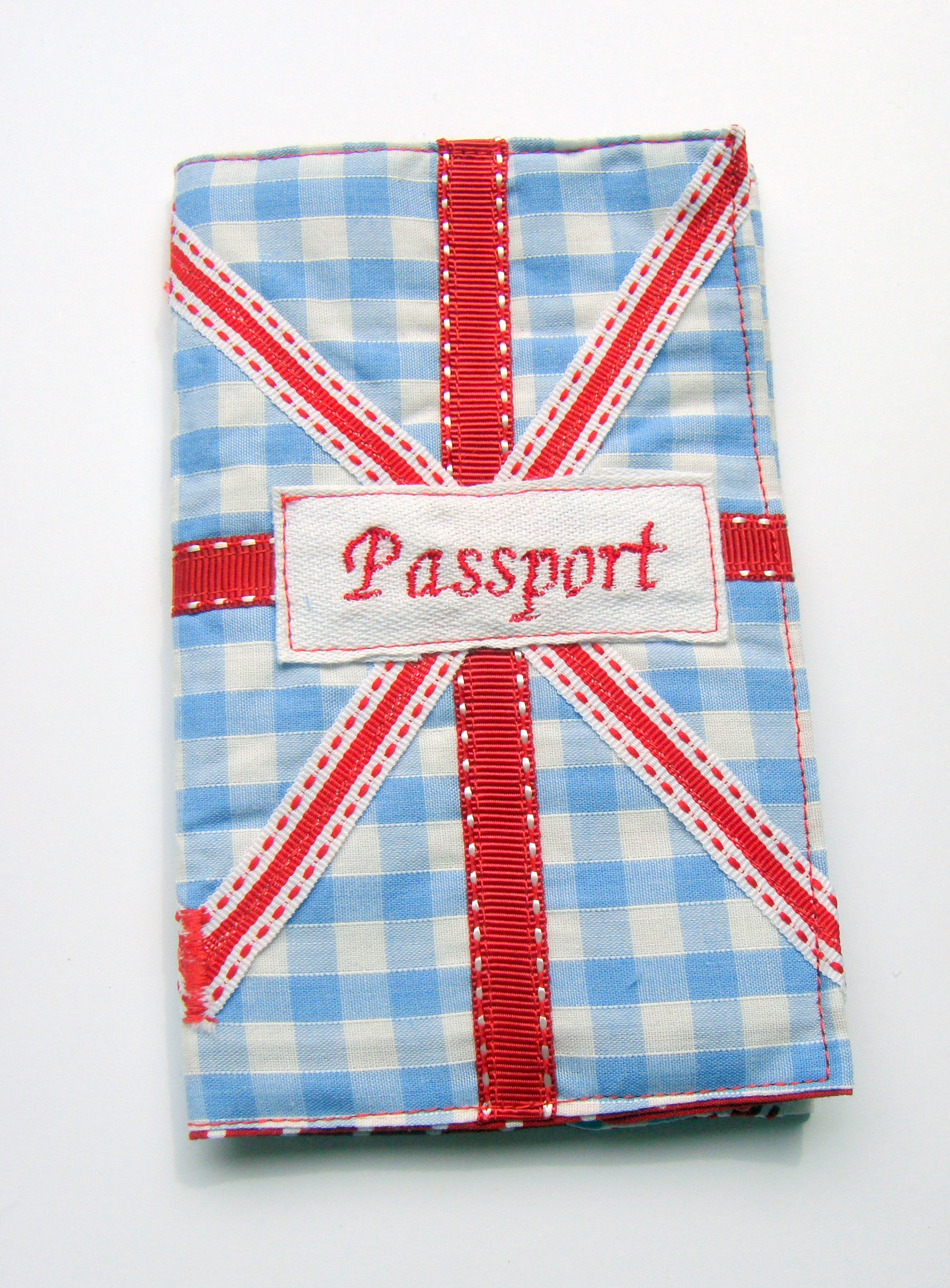 Made with Love - Union Jack Passport Cover
