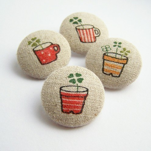 Mollimoo - Fabric Buttons