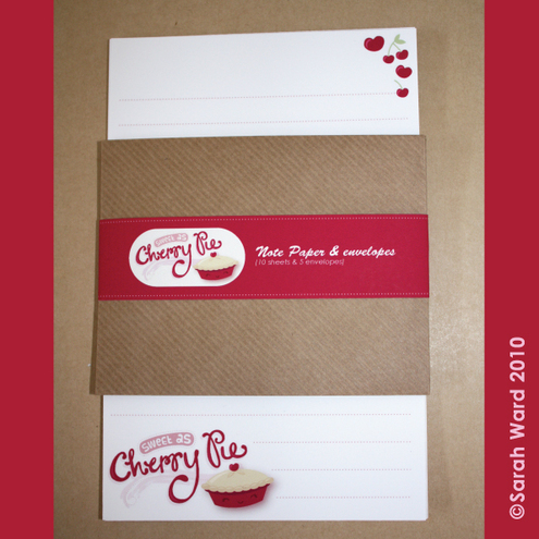 Gingerbred - Cherry Pie Letter Pack
