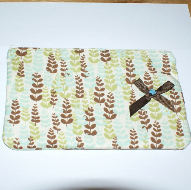 Fern make up bag