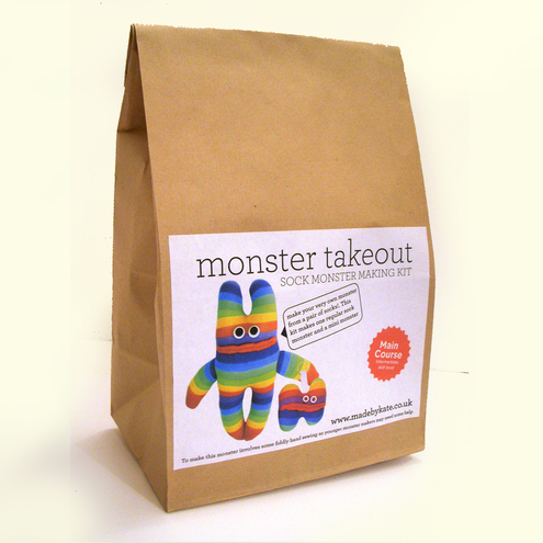 Monster Takeout - Made By Kate