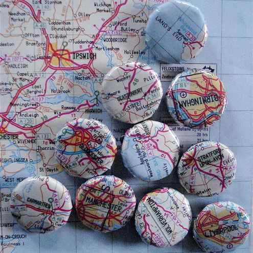 Hats Outrageous - Map Badges