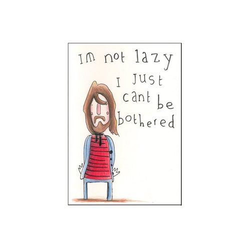 Lazy Boy Original Art, Simple Kid Industries £5