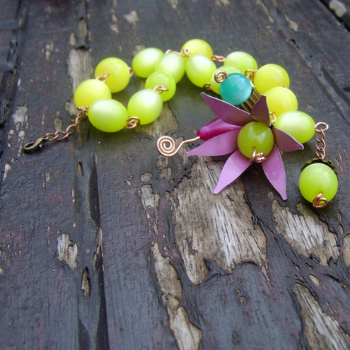 Grapes vine bracelet