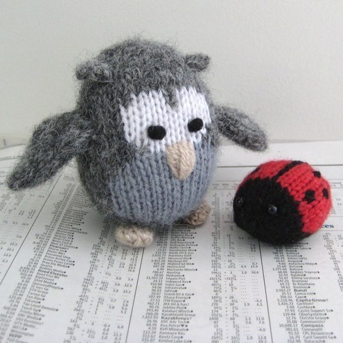 KNITTED OWL TOY PATTERN Free Knitting and Crochet Patterns