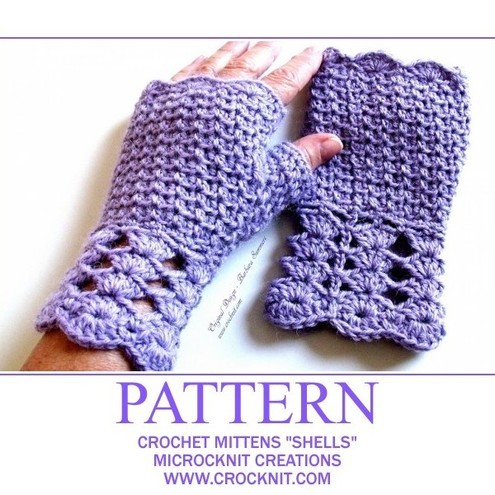 EASY CROCHET PATTERNS MITTENS - Crochet and Knitting Patterns