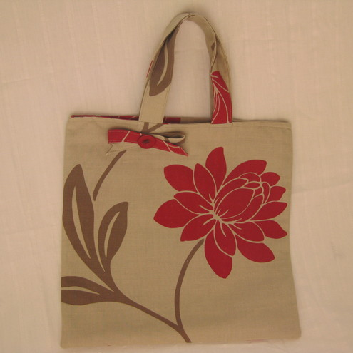 Pure Linen tote bag, by Yellow House Design