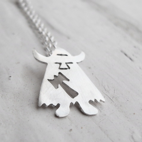 Jewellery Designs by Sarah Birt - Little Viking Pendant