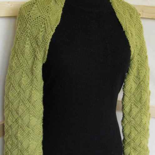 Free Knitting Pattern: Checkular Scrapghan