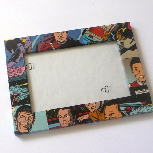 STAR TREK COMIC BOOK PHOTO FRAME<br />