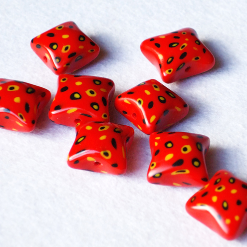 penny pillow beads
