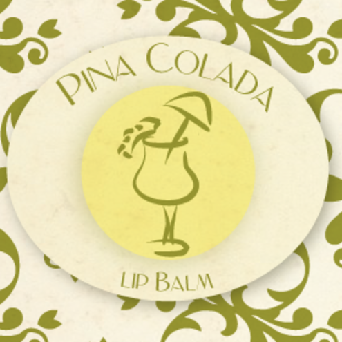 Sweet Talk Cosmetics - 100% Natural & Organic - Pina Colada Lip Balm