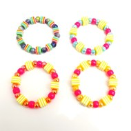 Girls Stretch cubed bracelets children's jewellery