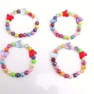 children's jewellery girls stretch butterfly bracelet