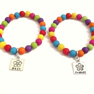 Childrens jewellery best friends bracelets