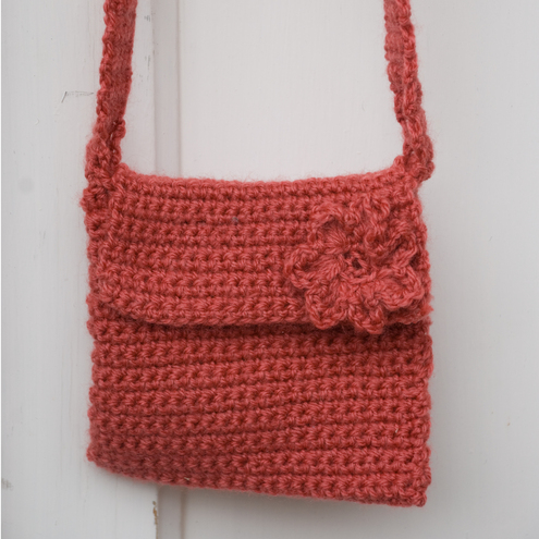 Free Crochet Patterns For Makeup Bags : Crochet Child S Shoulder Bag ? Shoulder Travel Bag