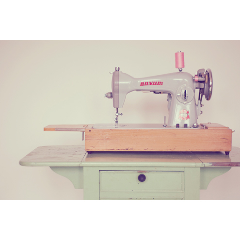 Vintage Sewing machine by Moontide Photography