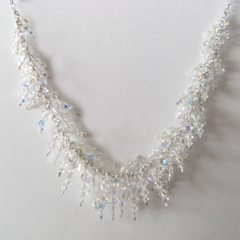 Bridal Designs Icicle Necklace