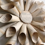 Paper Wreath – Pride and Prejudice, by Bookity