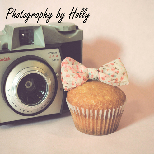 Vintage Camera & Cupcake Print by Photography by Holly