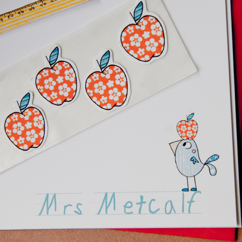 Little Bird too - Teachers Stationery Set