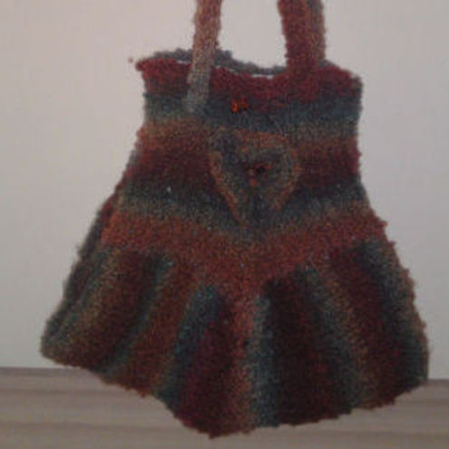 Bits and Bobs Crafts - autumn shades bag