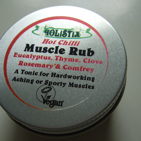 Chilli Hot Muscle Rub, by Holistix