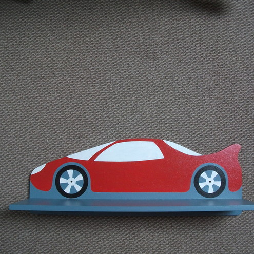 Sports Car Shelf by Great Green Ltd