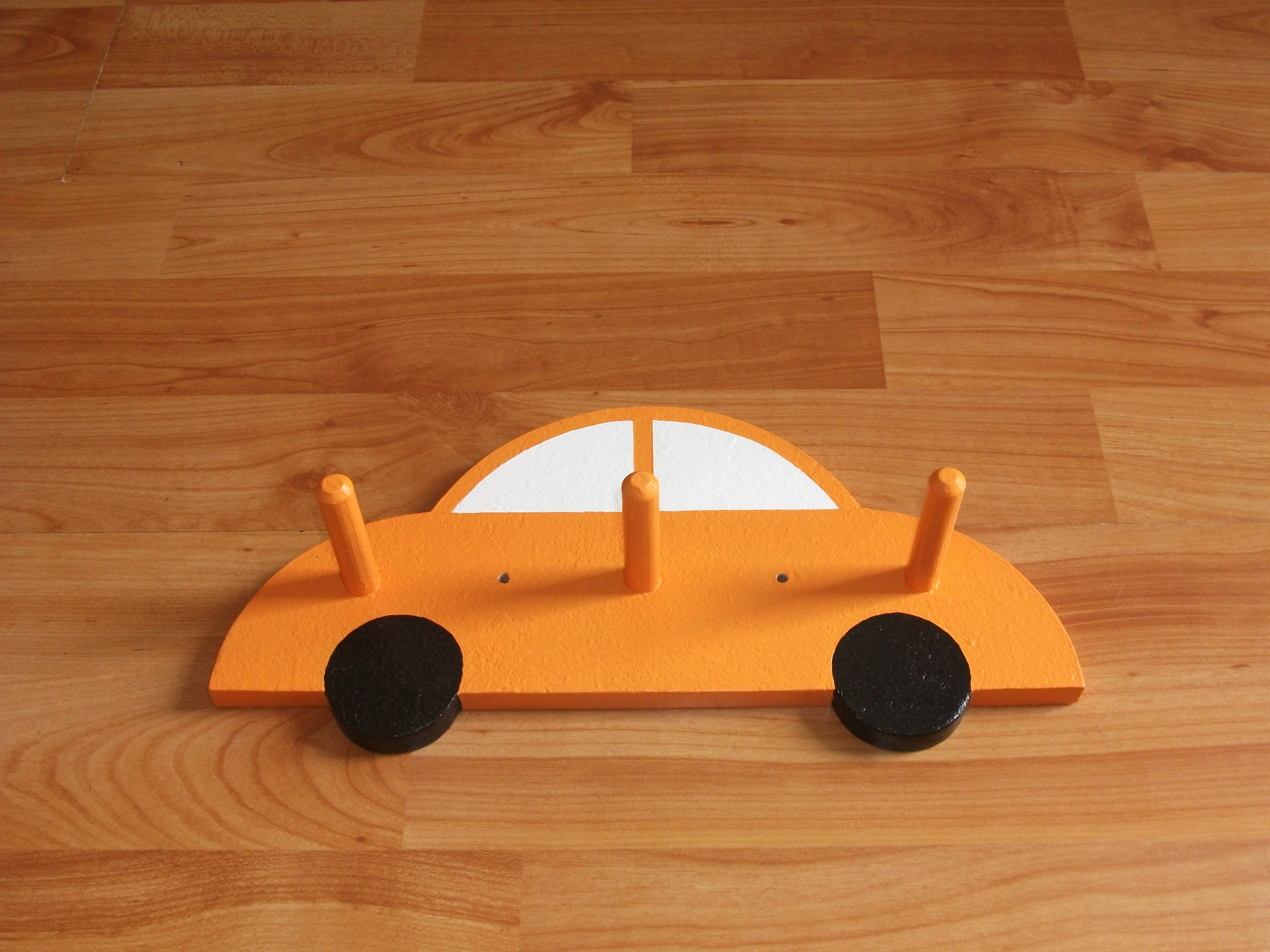 Fun Car Coatpeg - Orange