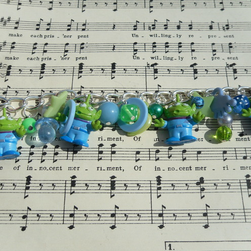 Aliens From Toy Story. Toy Story Alien Charm Bracelet