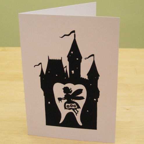 Old Wives Tale - Tooth Fairy Greetings Card