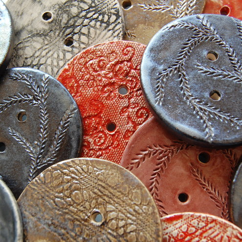 Artspace Scotland - ceramic buttons