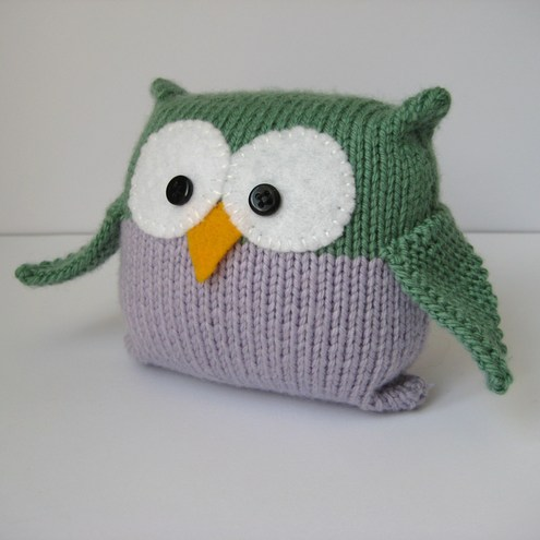 Free Knitting Patterns For Head Wraps : KNITTED OWL PATTERNS 1000 Free Patterns