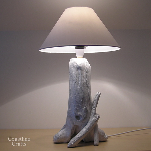 Coastline Crafts - Driftwood table lamp Art Crafts