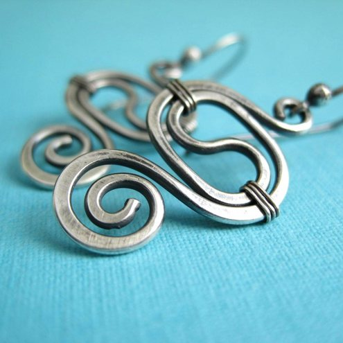 handmade wire wrapped jewellery