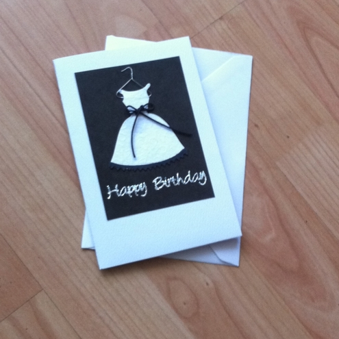 Handmade birthday cards for girls i love quotes a beautiful happy birthday handmade card for that someone bookmarktalkfo Choice Image