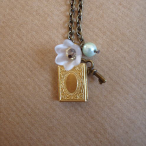 Eclectic Creations - Secret Diary Locket Necklace