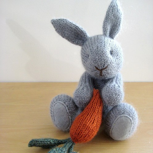 Ravelry: Crochet Rabbit/Bunny Applique pattern by aeshu1