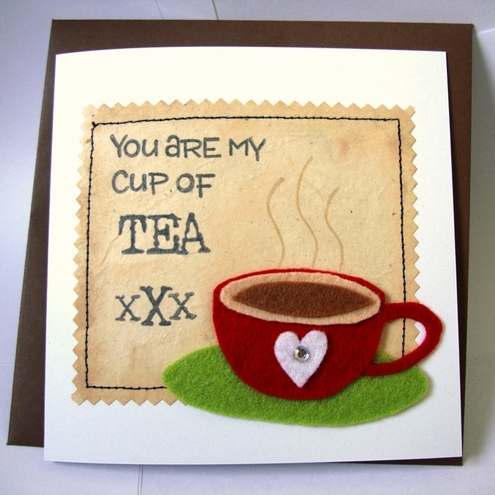 Shinta Shop - Love Card (My cup of tea)