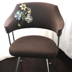 Blue Flowers Easy Chair from Bonnie and Jackson