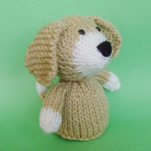 Knitting Pattern For Puppy Dogs : KNITTING DOG PATTERNS   FREE KNITTING PATTERNS