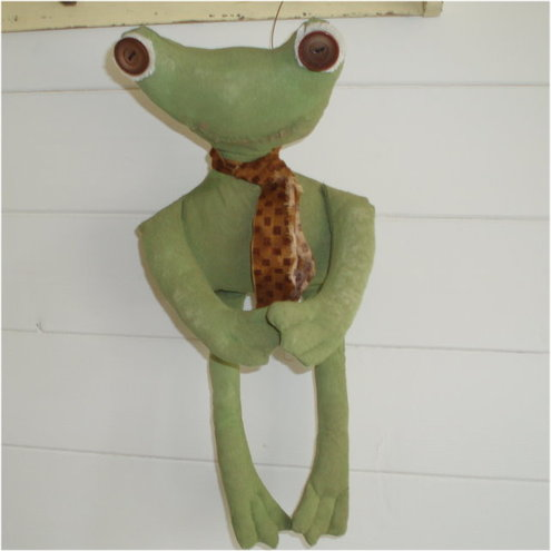Plain Primitives - Primitive Folk Art Frog