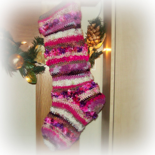 crochet christmas stocking pattern - ShopWiki