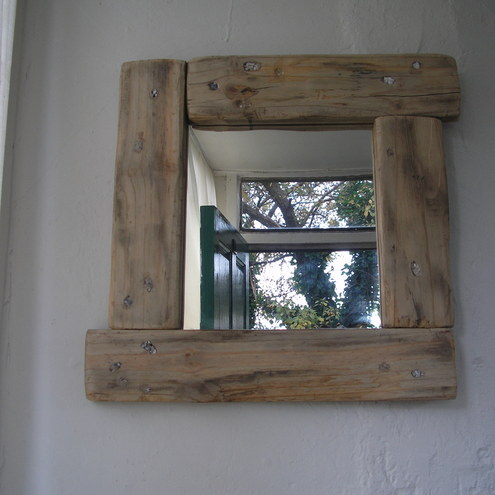 emeraldAisle Creations - Handcrafted Driftwood Mirror from Ireland