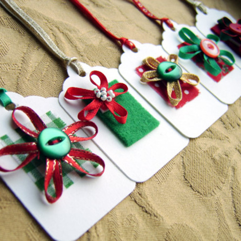 Christmas creative christmas crafts christmas gift tags for Easy crafts for christmas presents