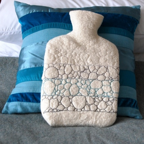 Petal Textiles - Pebble Layers Hot Water Bottle