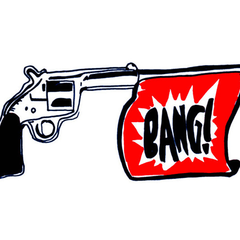 bang bang shoot shoot essays on guns and popular culture Sociology at ryerson polytechnic university, and the author of magia d'amore  and coeditor of bang bang, shoot shoot essays on guns and popular culture.