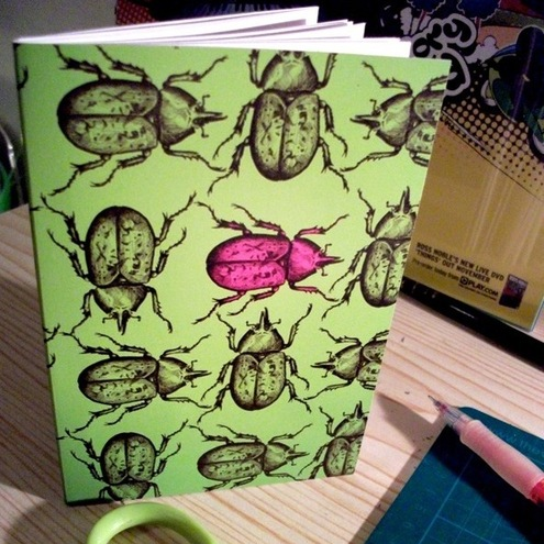 Chillustration - A6 Beetle Notebook